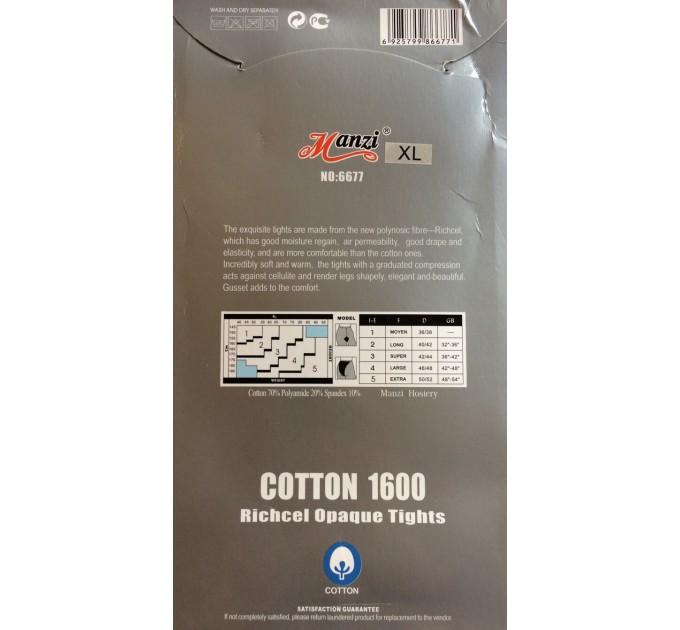 Колготки Manzi Cotton 1600 den