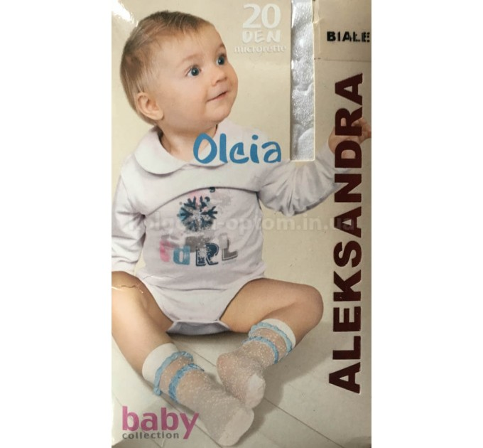 Детские носки с узором Aleksandra Olcia 20 den