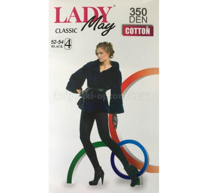 Колготки Lady May Classic Cotton 350 den